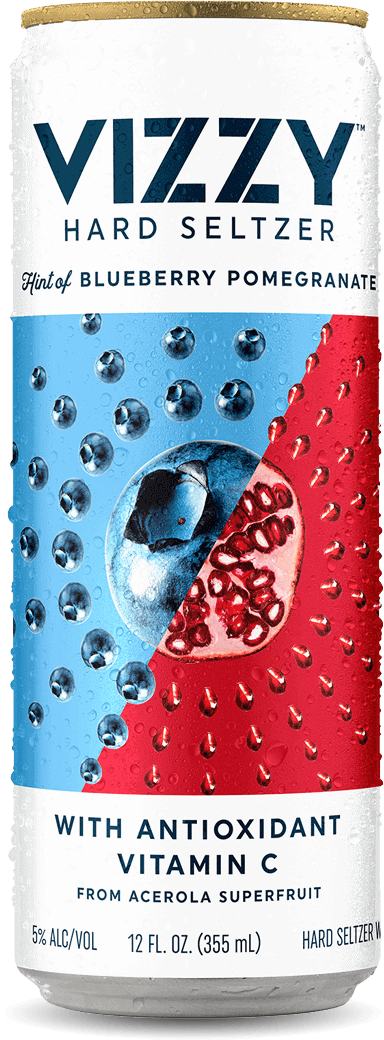 Blueberry Pomegranate can